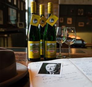 Adenauer-Wein im Weingut Broel